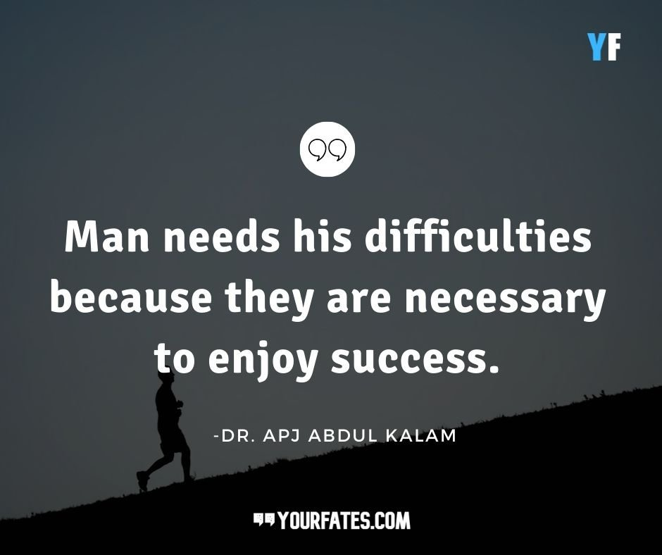 Abdul Kalam Success Quotes