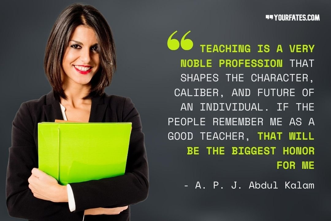 Teacher day quotes by apj abdul kalam