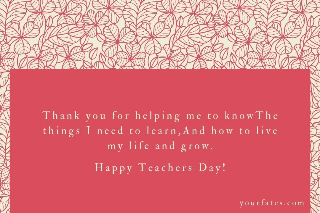 Teacher day wishes 2020