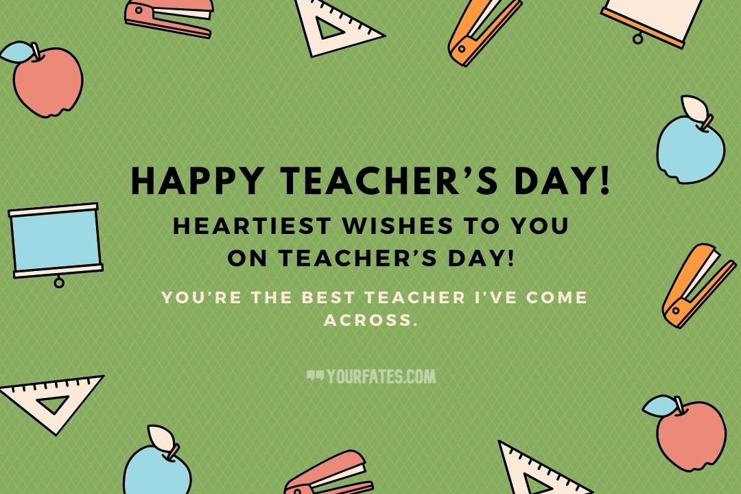 Teaching day wishes