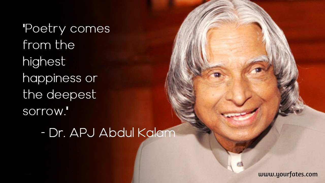 abdul kalam saying