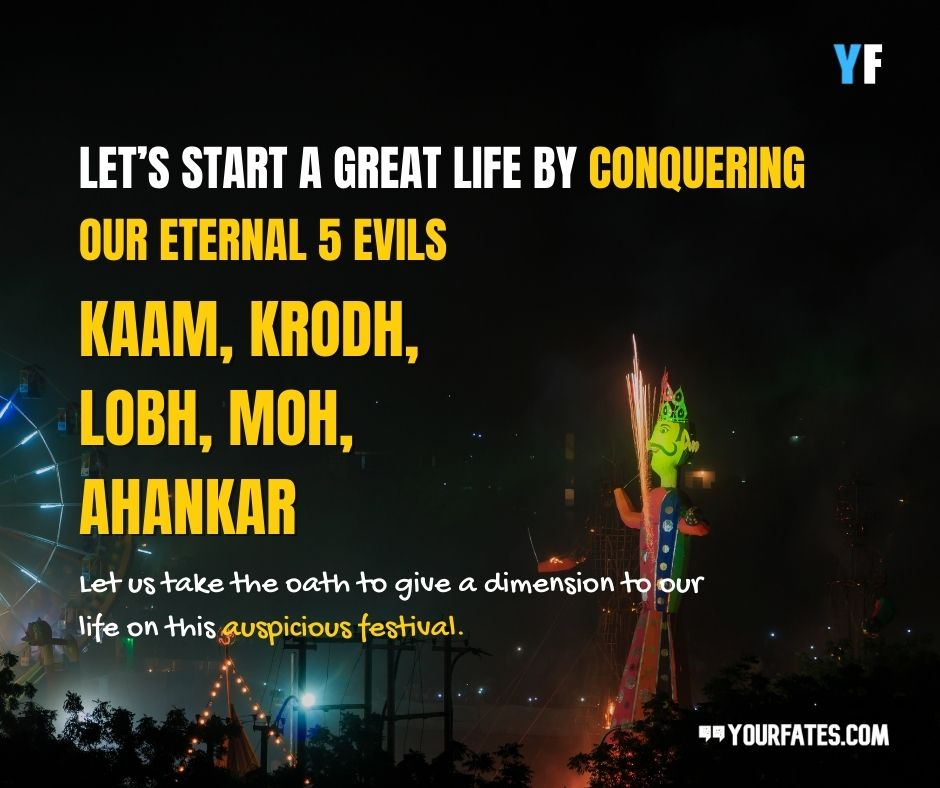 Happy Dussehra inspirational Wishes