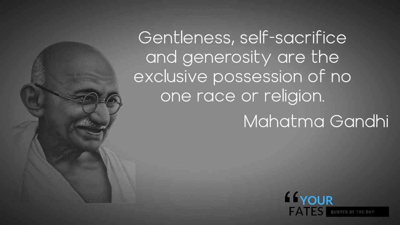 mahatma gandhi religion quotes