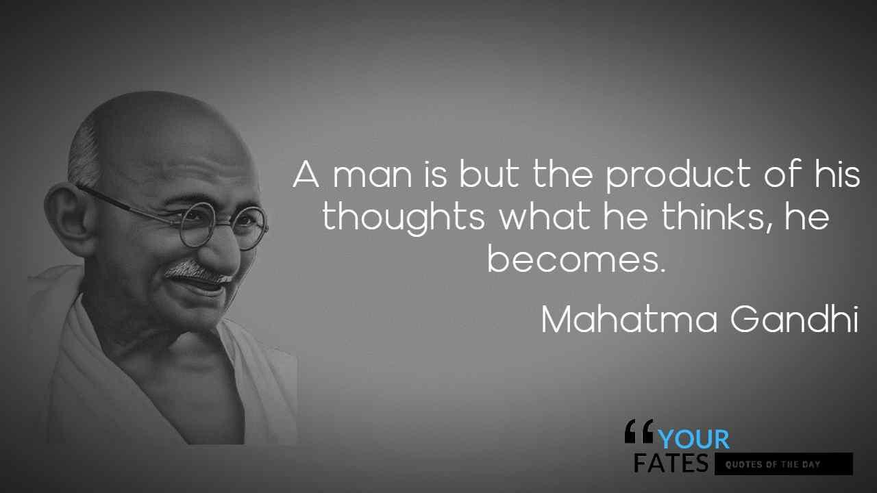 mahatma gandhi quotes strength