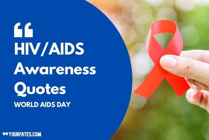 HIV_AIDS Awareness Quotes