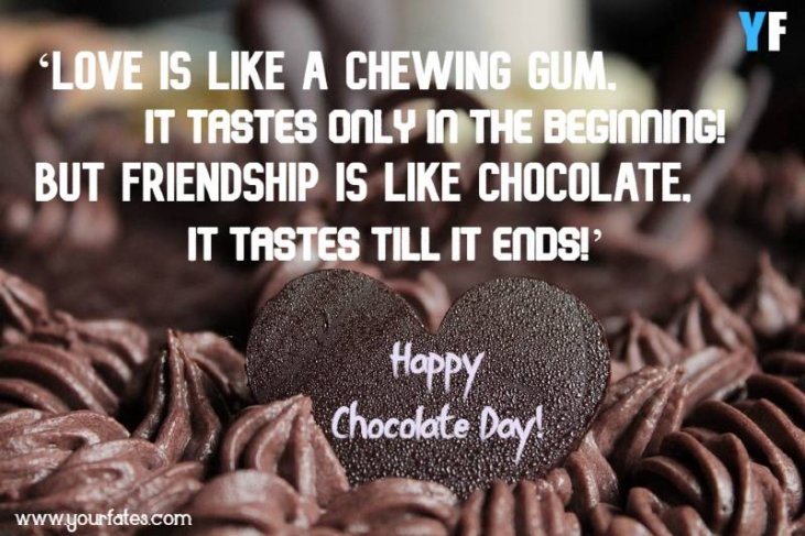 best chocolate day quotes for girlfriend and boyfriend