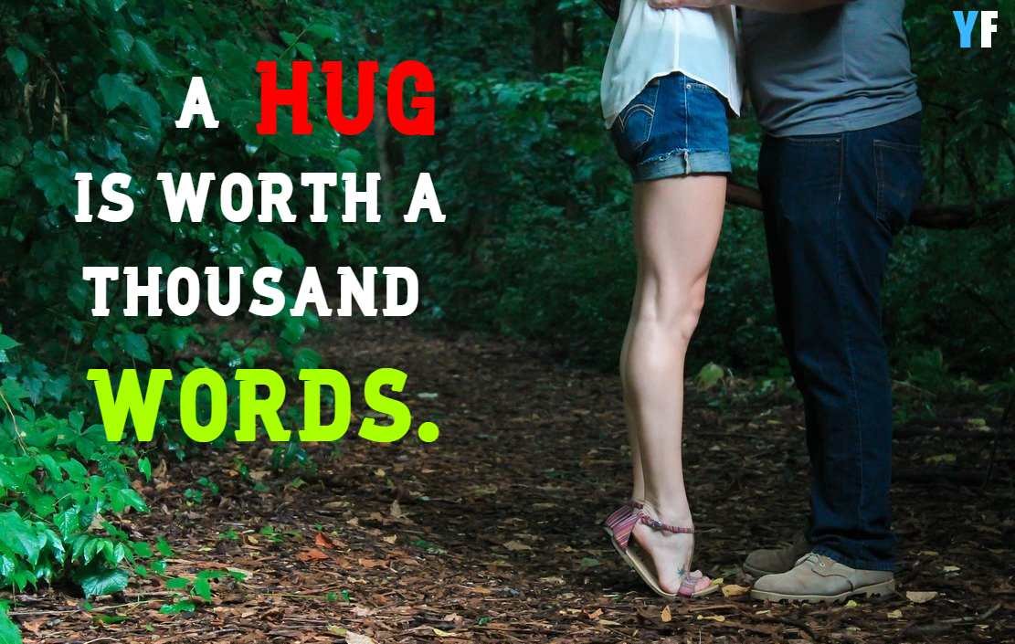 short hug day quotes
