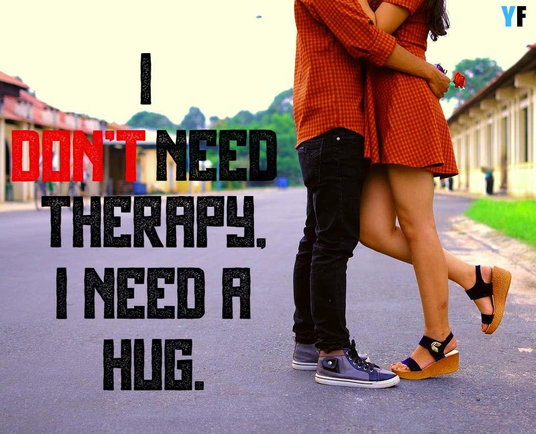 hug day caption