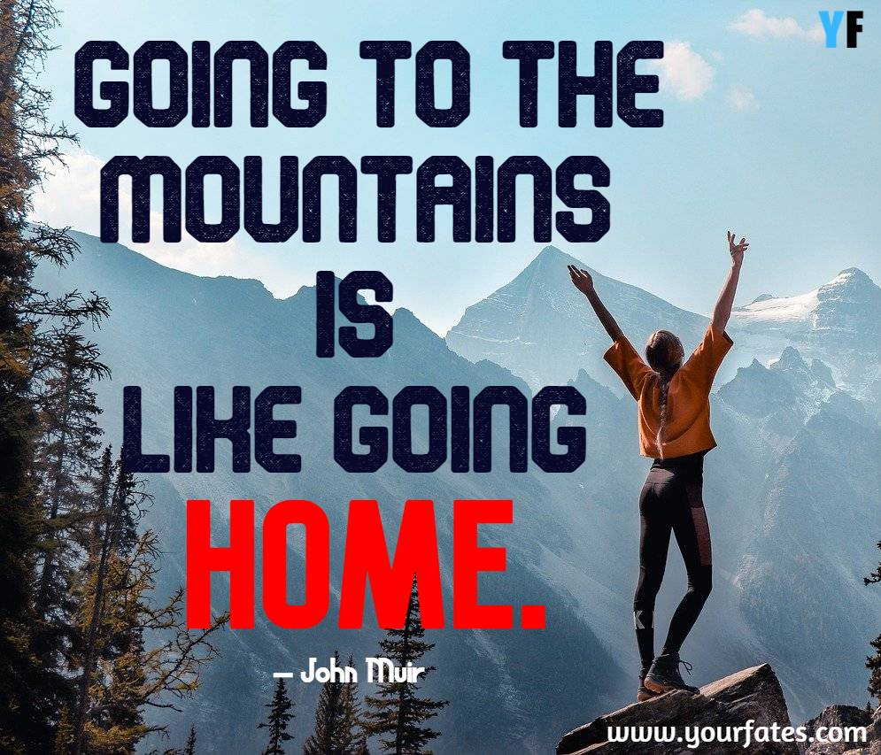 mountains is like going home
