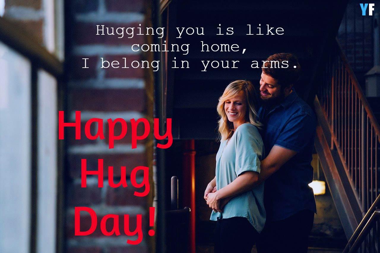 hug day message