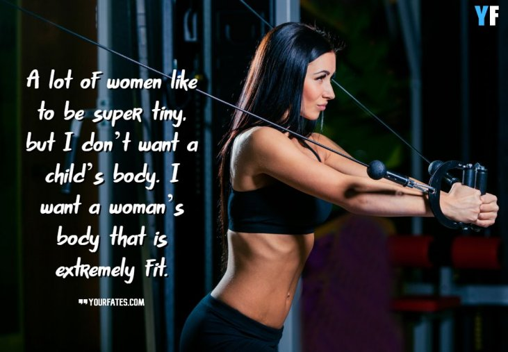 41 Best Motivational Fitness Quotes For Women 2020 What is physical fitness or what does it mean to be physically fit? motivational fitness quotes for women