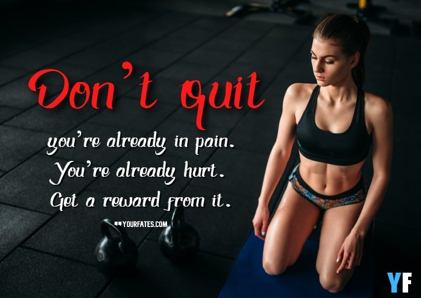 female fitness quotes