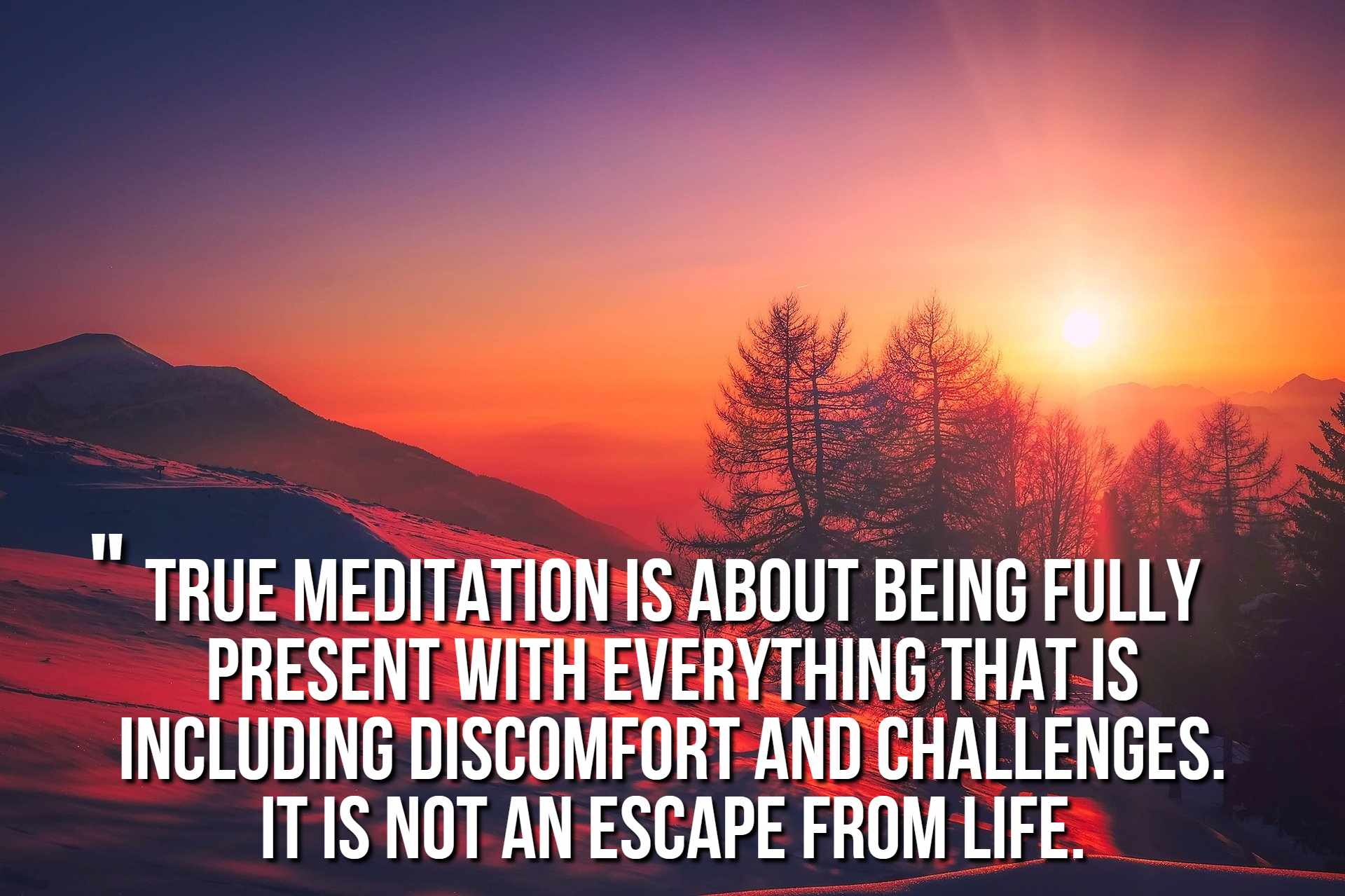 yoga quotes about meditation