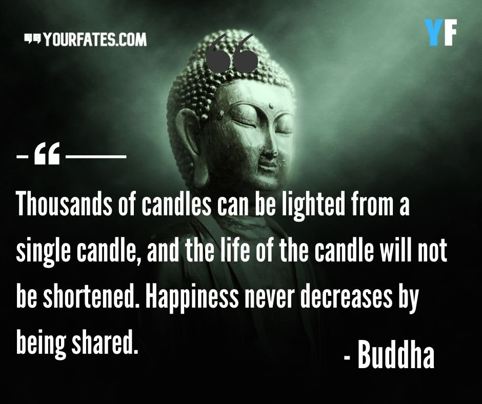 100 Famous Gautam Buddha Quotes On Life Peace And Death Yourfates