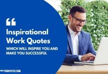 Inspirational Work Quotes