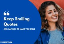 smile quotes and caption