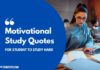 Motivational Study Quotes