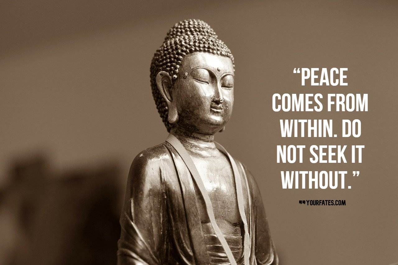 inner peace buddha quotes