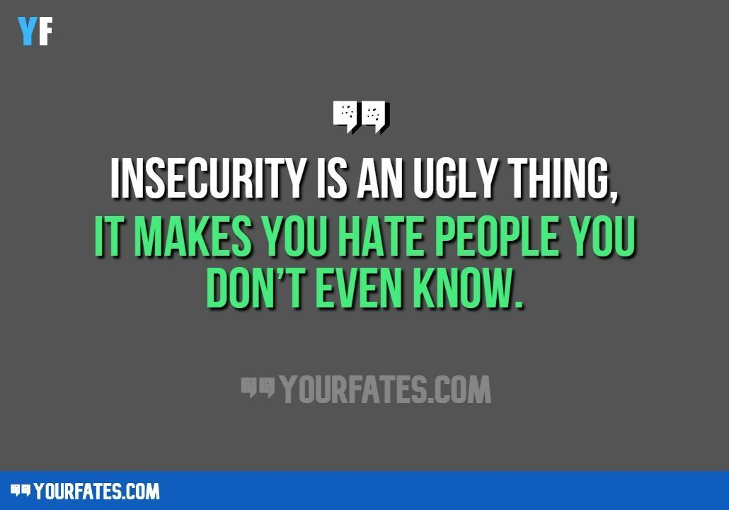 Insecure Quotes