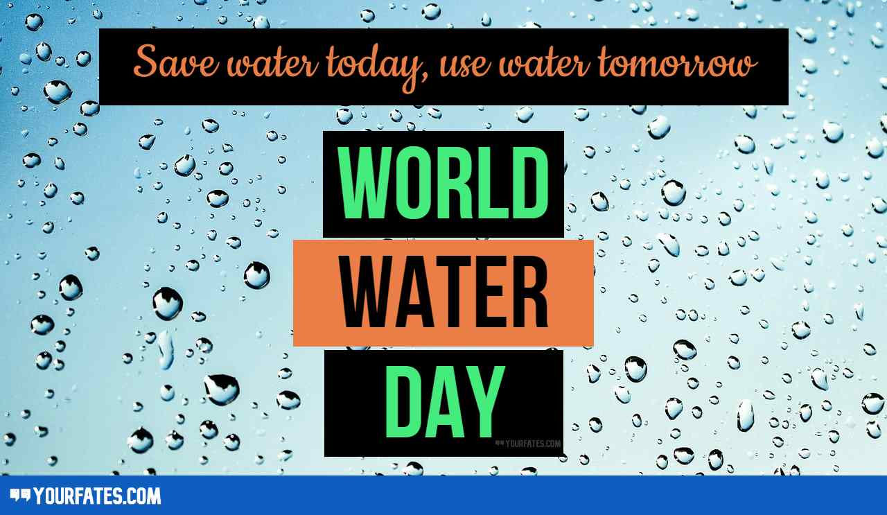 world water day images