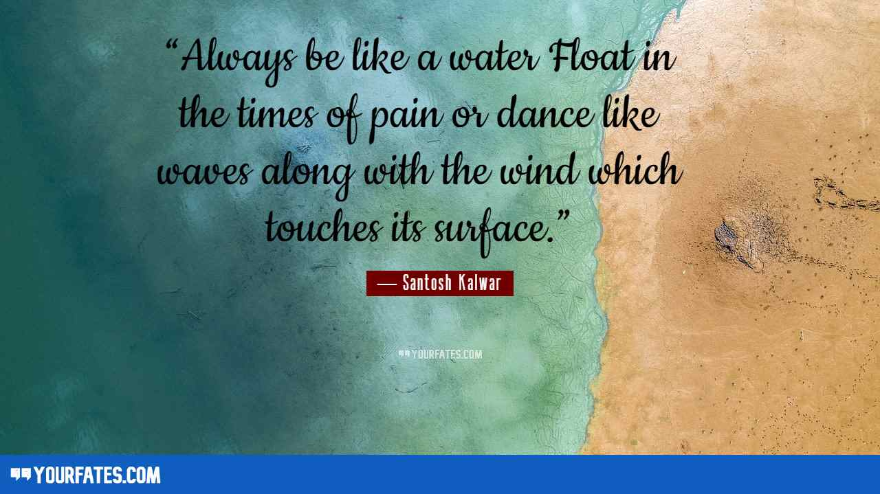 quotes on water