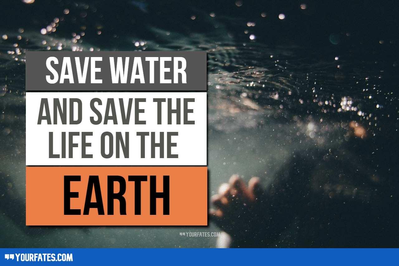 save water slogans