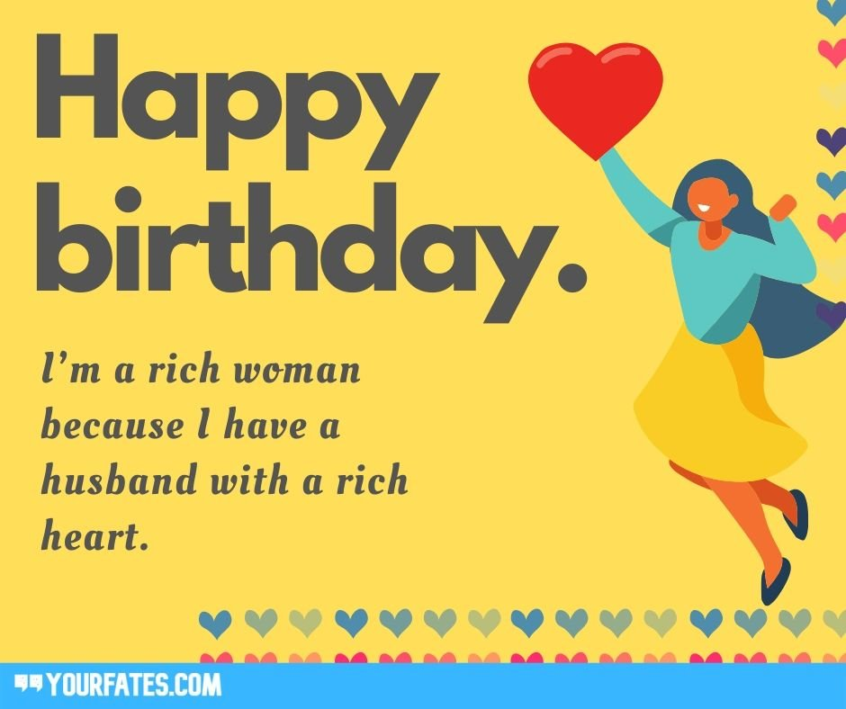 Advance Birthday Wishes for Husband