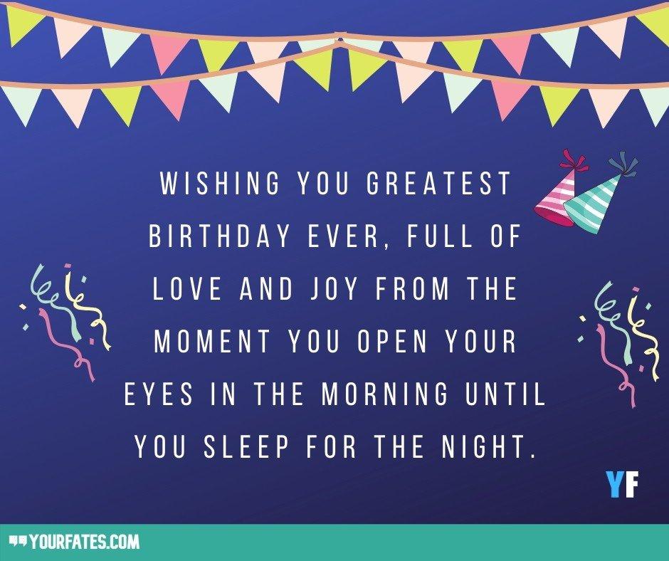 Facebook birthday wishes