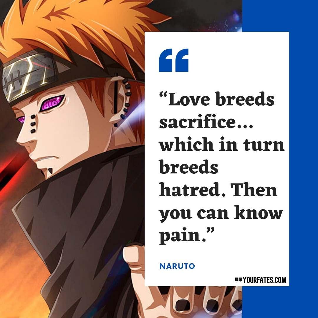Pain Naruto Quotes
