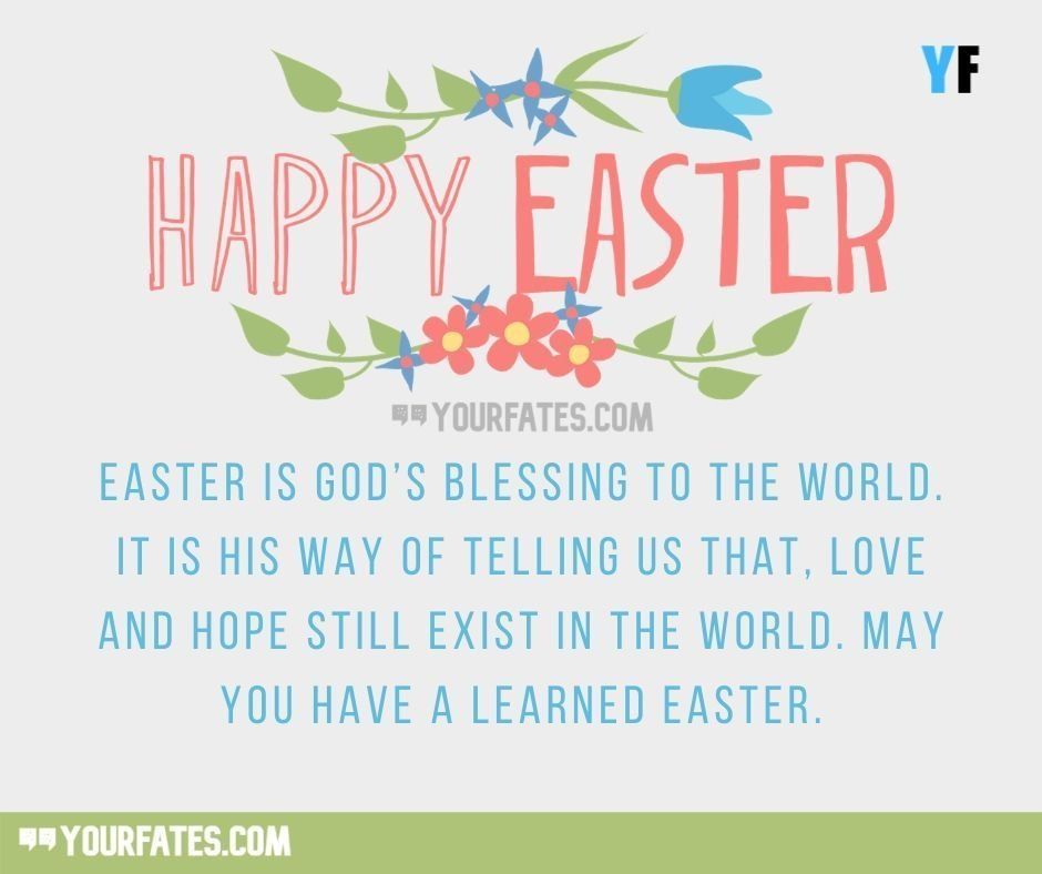 Lovely Easter Messages