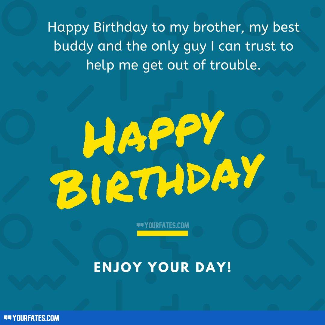 Wishes for Brother From a Sister