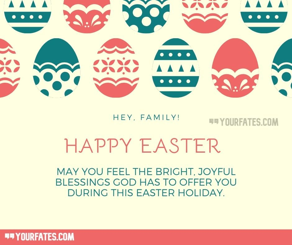 Happy Easter Sunday Blessings