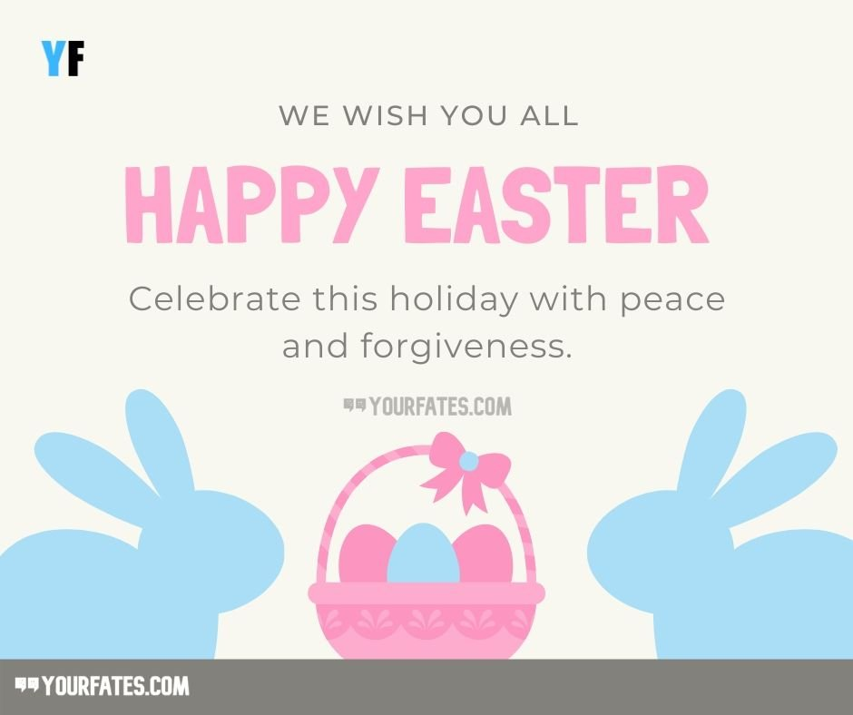 Happy Easter wishes message