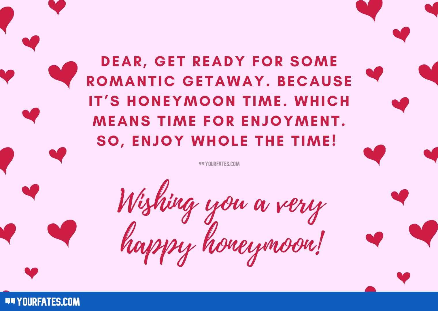 Happy Honeymoon Quotes
