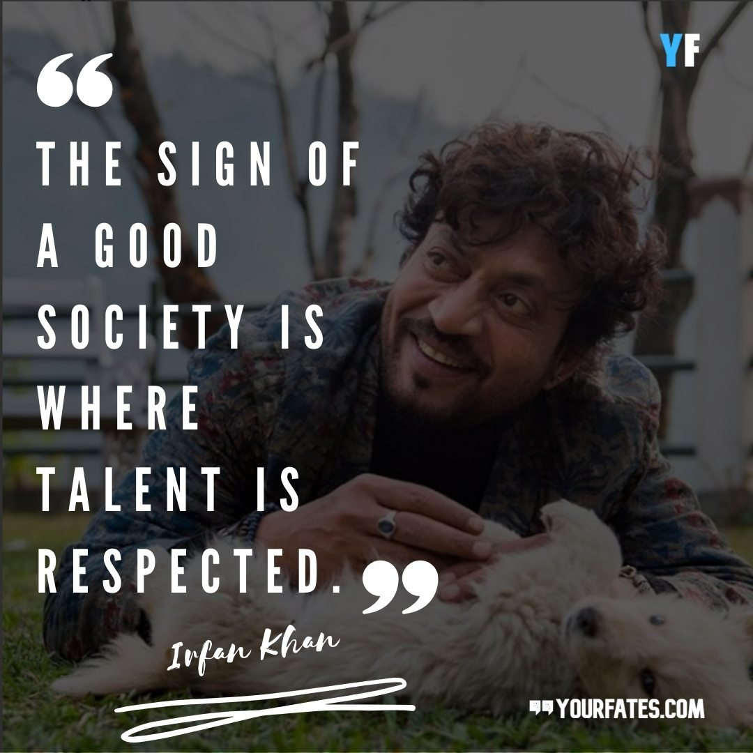 inspirational Irrfan Khan Quotes