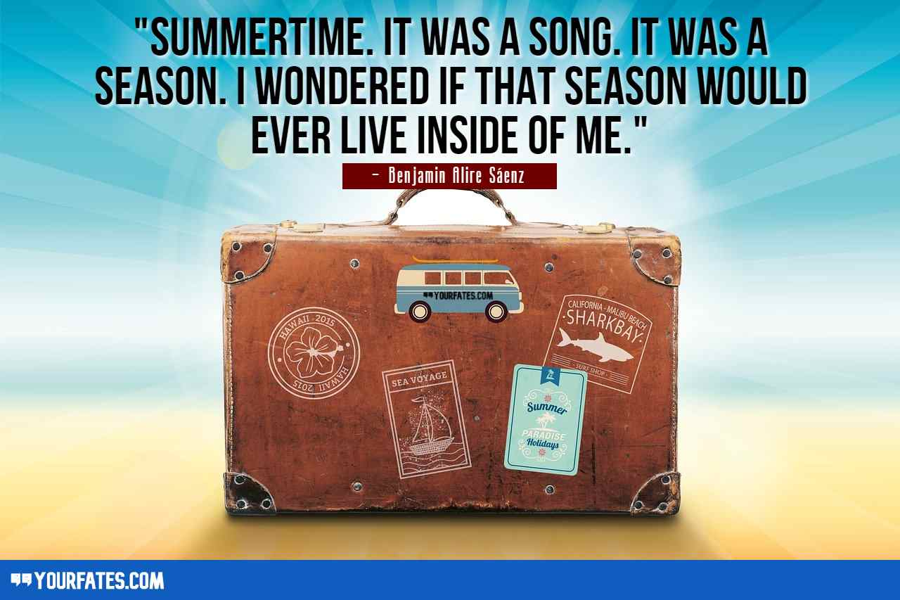 Happy Summer Vacation Quotes