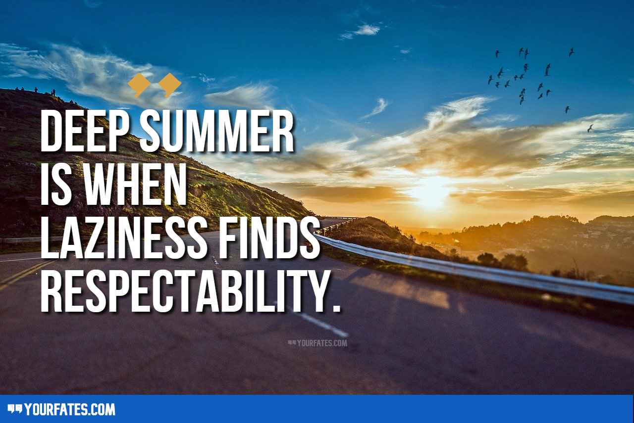 Summer Vacation Quotes