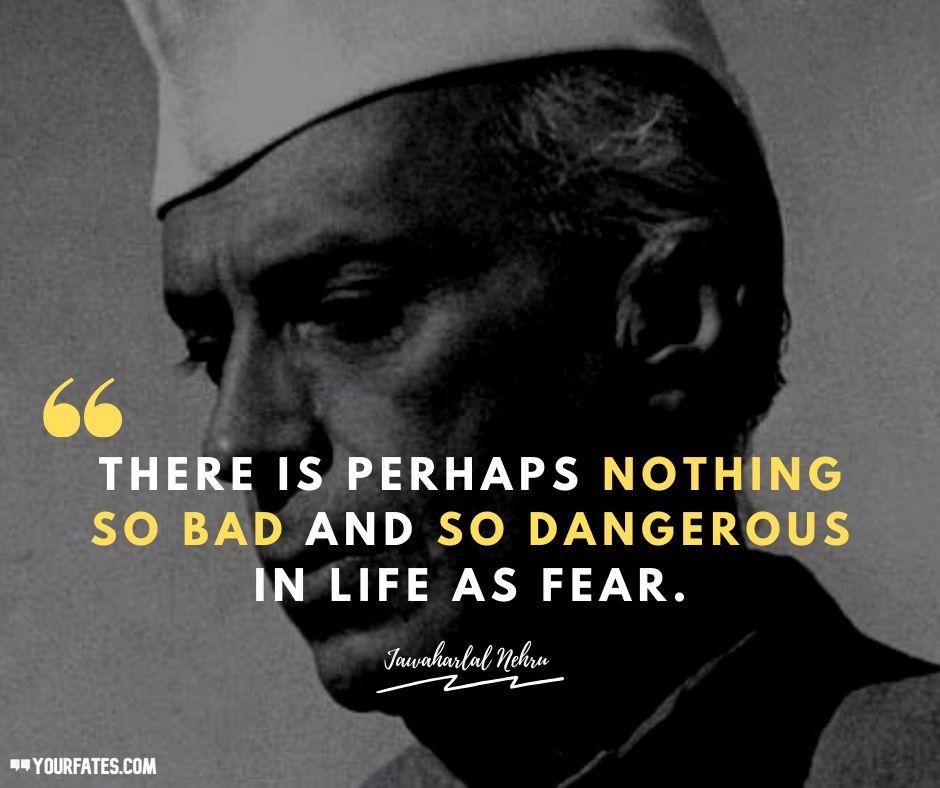 Best Jawaharlal Nehru Quotes