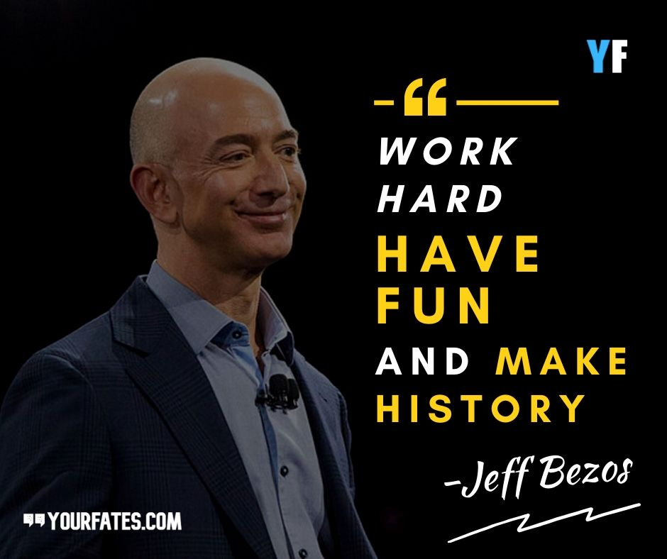 Amazon CEO, Jeff Bezos Quotes