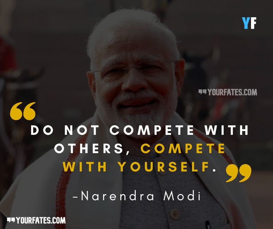 inspirational quotes by Narendra Modi