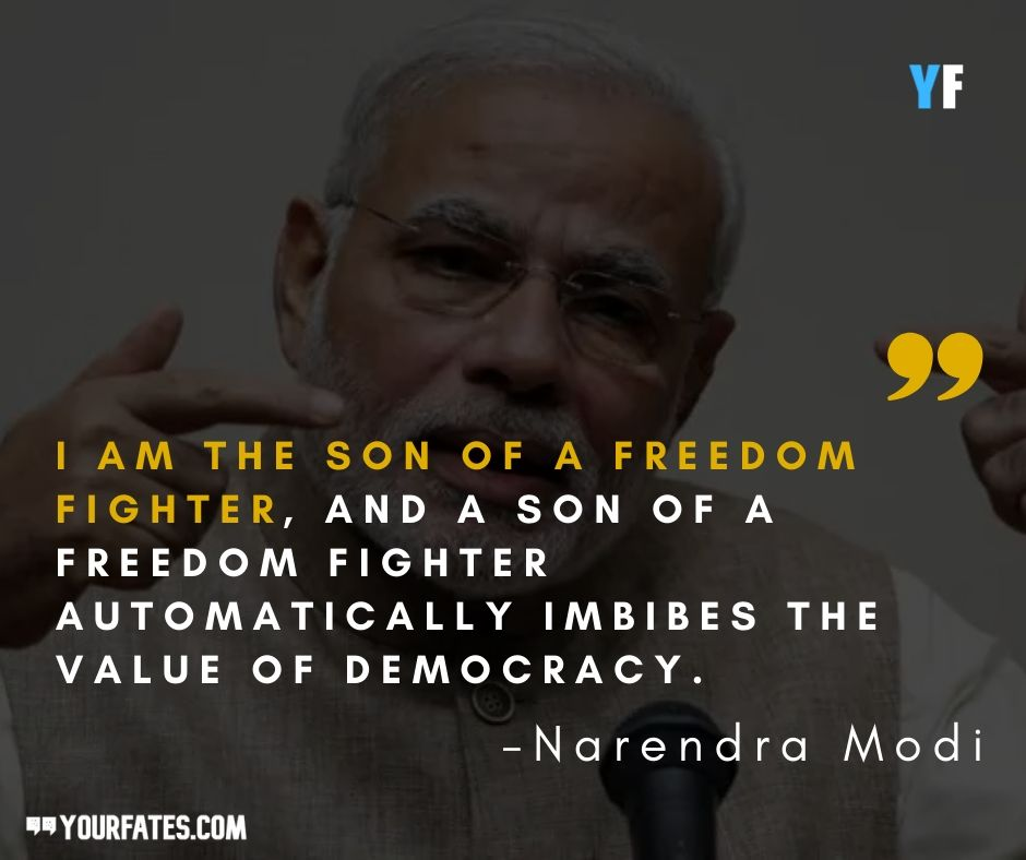 quotes by Narendra Modi