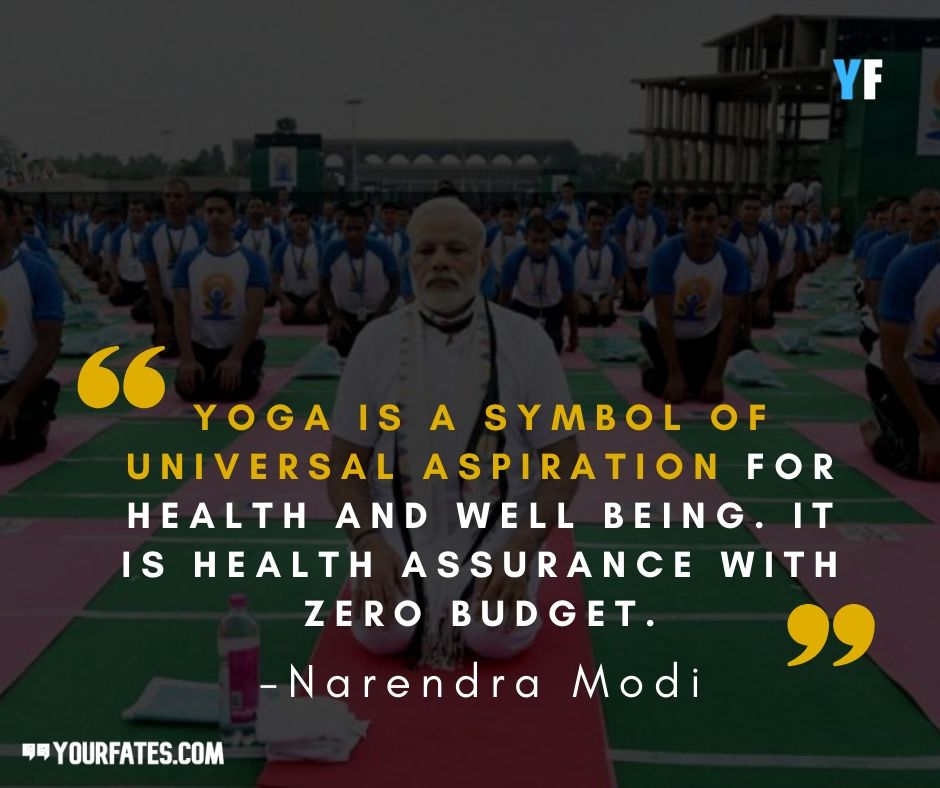 Narendra Modi Quotes on Yoga