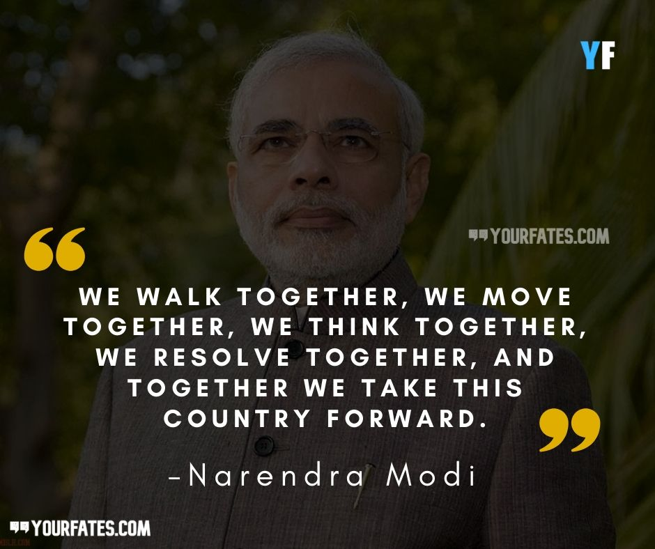 inspirational Narendra Modi quotes