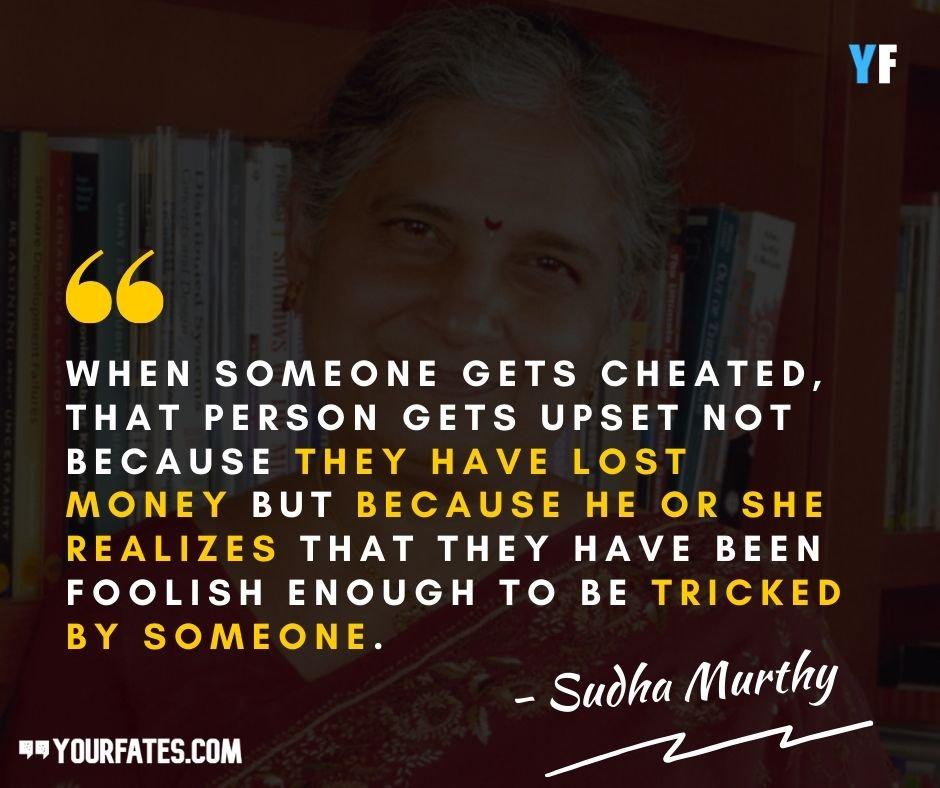 Sudha Murthy Quotes