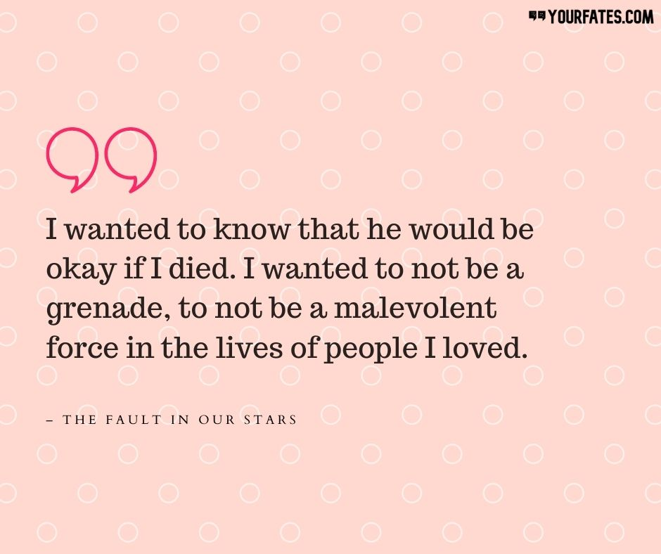 The Fault in Our Stars Quotes About Death