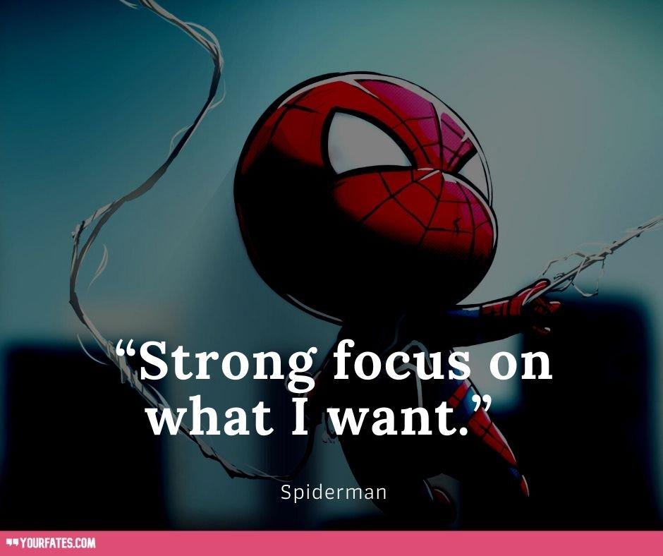 best spiderman Quotes