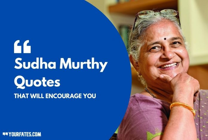 Best Sudha Murthy Quotes