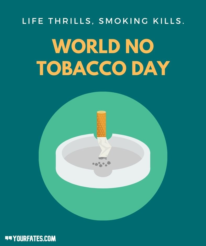 no tobacco day wishes