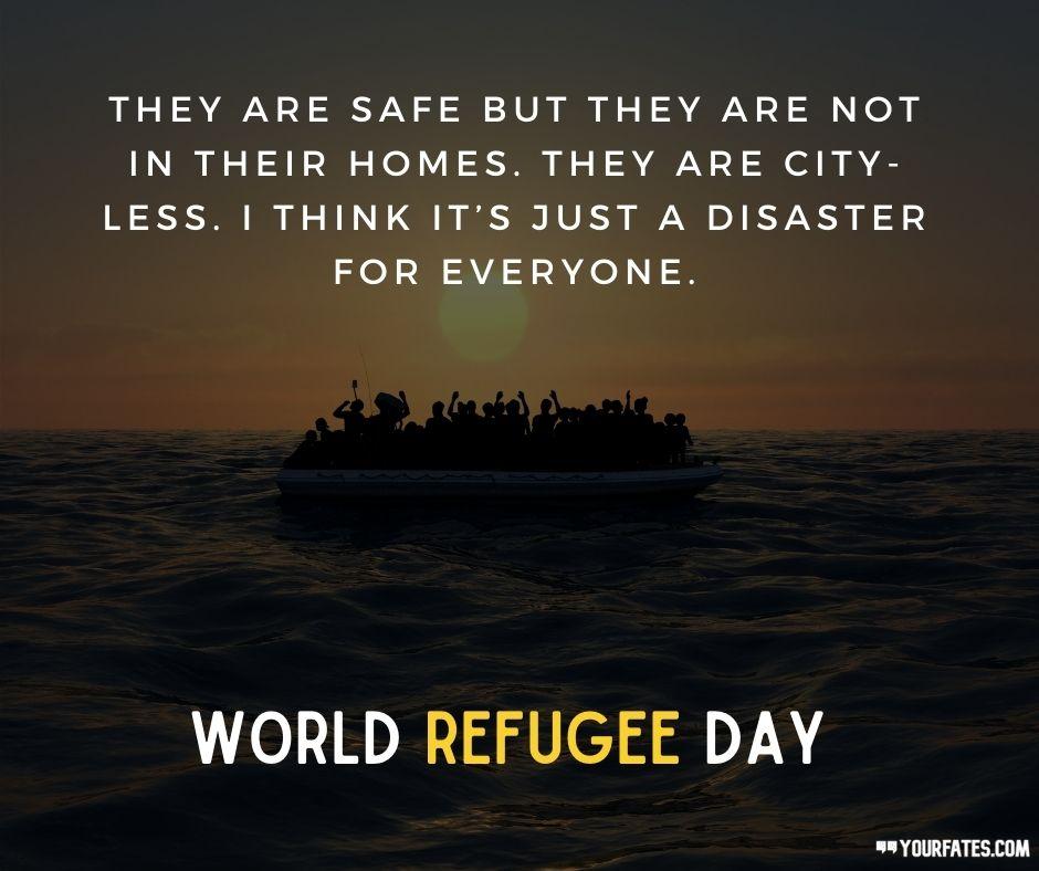 world refugee day wishes
