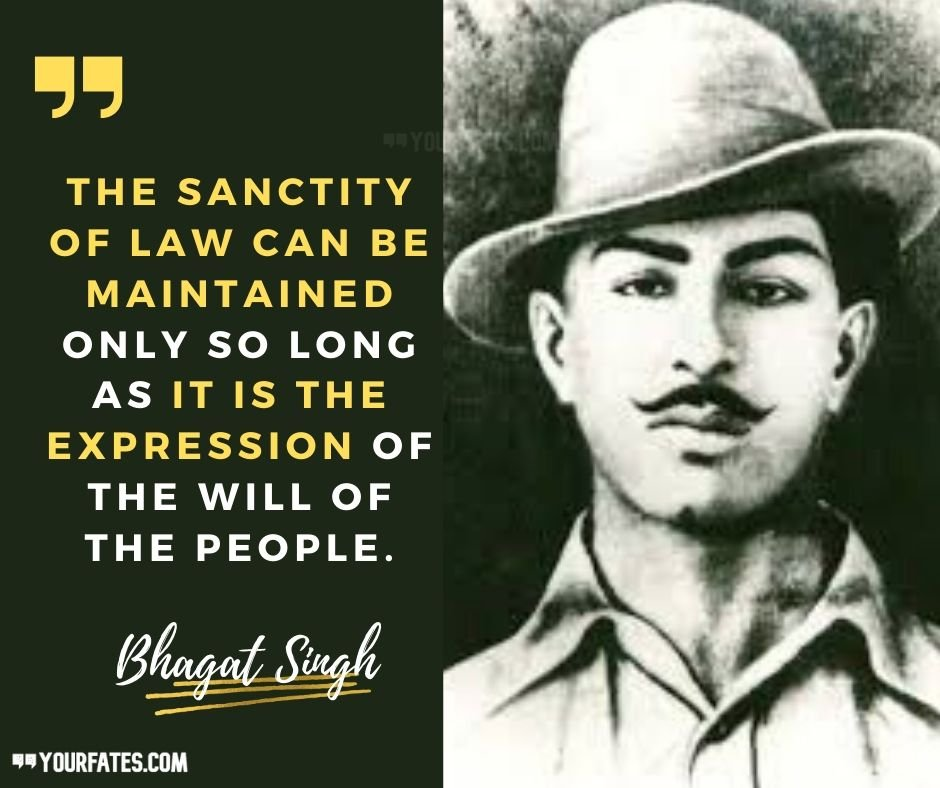 30 Best Shaheed Bhagat Singh Quotes From His Jail Notebook